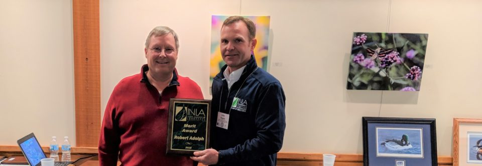 Adolph Presented with 2019 INLA Merit Award